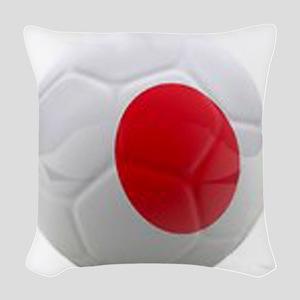 Japan World Cup Ball Woven Throw Pillow