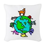 Animal Planet Rescue Woven Throw Pillow