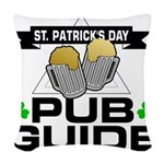 pub guide Woven Throw Pillow