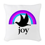 Doves Of Joy Woven Throw Pillow