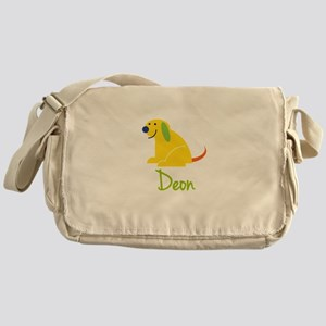 Deon Loves Puppies Messenger Bag