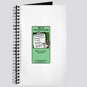 PBL-101: Panic Based Learning Notebook