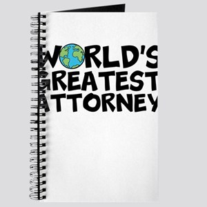 World's Greatest Attorney Journal