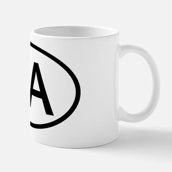 PA Oval - Pennsylvania Mug