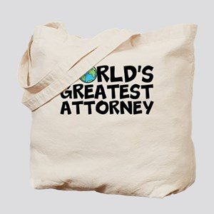 World's Greatest Attorney Tote Bag