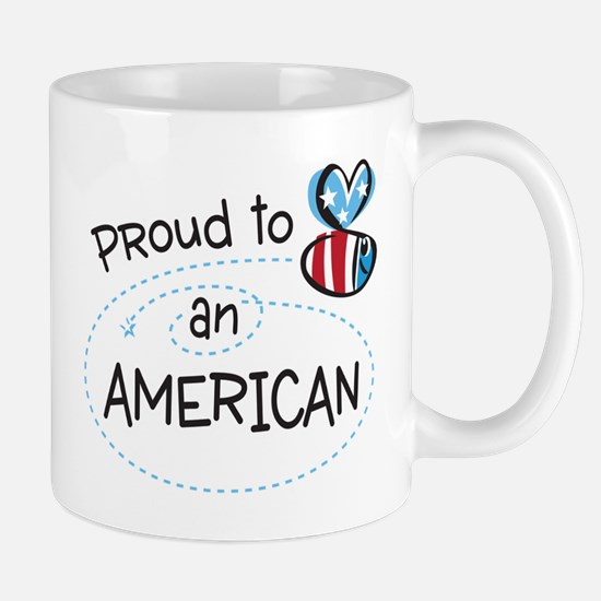 Proud to Bee an American Mug