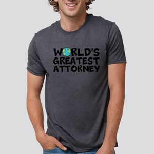 World's Greatest Attorney Mens Tri-blend T-Shi