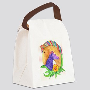 Curly Luv Canvas Lunch Bag