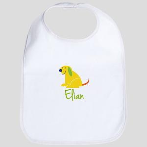 Elian Loves Puppies Bib