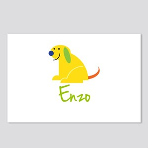 Enzo Loves Puppies Postcards (Package of 8)