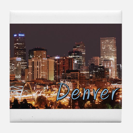 Denver Colorado Tile Coaster