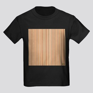 Neutral Stripes With Red Pop T-Shirt