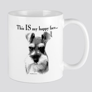 Std. Schnauzer Happy Face Mug