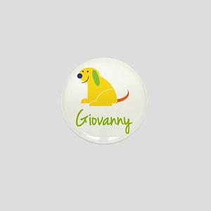 Giovanny Loves Puppies Mini Button