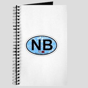 Naples Beach - Oval Design. Journal