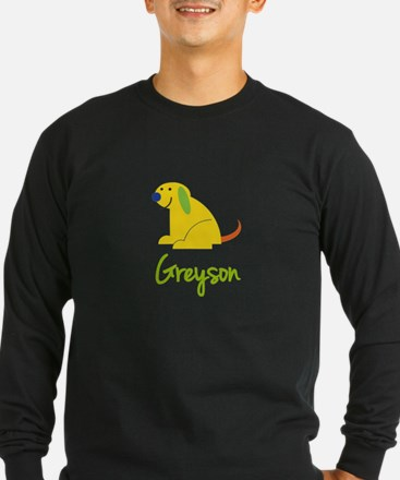 Greyson Loves Puppies Long Sleeve T-Shirt