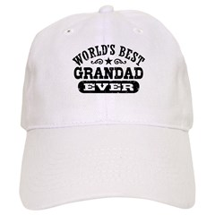 World's Best Grandad Ever Baseball Cap