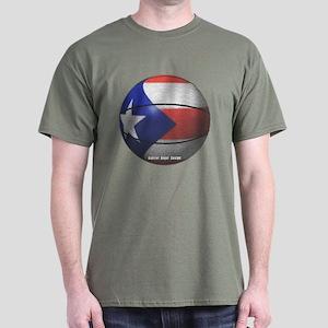 Puerto Rican Basketball Dark T-Shirt