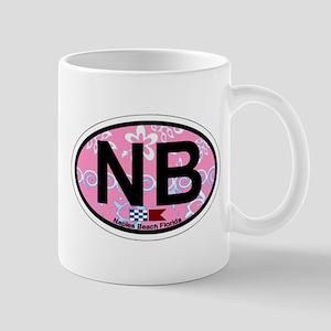 Naples Beach - Oval Design. Mug