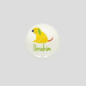 Ibrahim Loves Puppies Mini Button