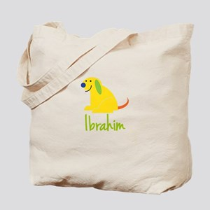 Ibrahim Loves Puppies Tote Bag