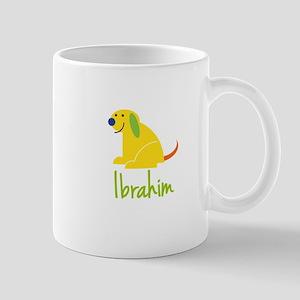 Ibrahim Loves Puppies Mug