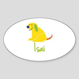 Isai Loves Puppies Sticker