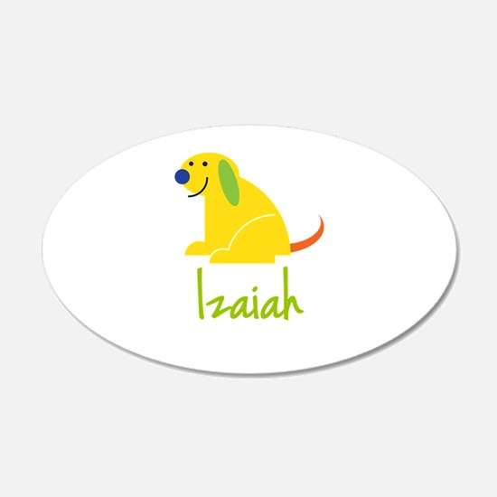 Izaiah Loves Puppies Wall Decal