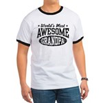 World's Most Awesome Grandpa Ringer T