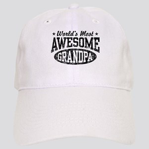 World's Most Awesome Grandpa Cap