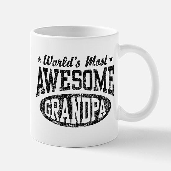 World's Most Awesome Grandpa Mug