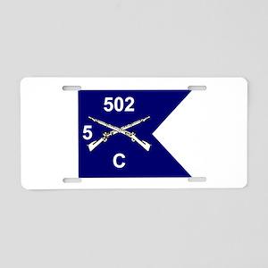 C/5/502 Aluminum License Plate