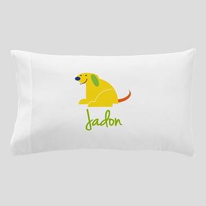 Jadon Loves Puppies Pillow Case