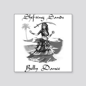 Shifting Sands Belly Dance Sticker