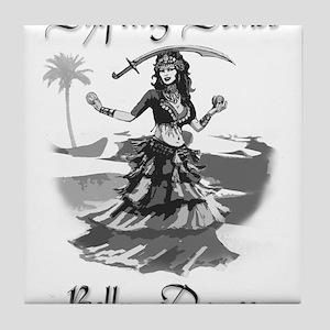 Shifting Sands Belly Dance Tile Coaster