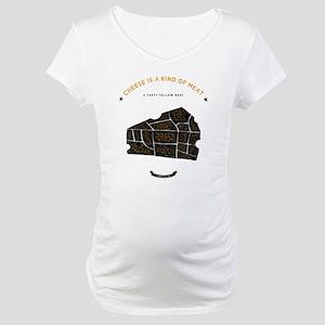 Cheese chart Maternity T-Shirt