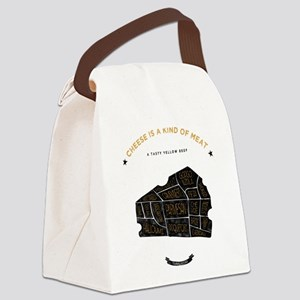 Cheese chart Canvas Lunch Bag
