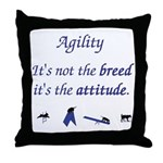 It isn't the Breed Throw Pillow