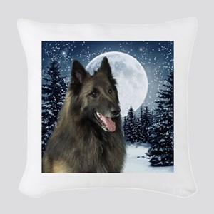 BTWinterShirt Woven Throw Pillow