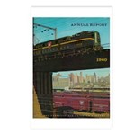 PENNA. RAILROAD 1960 Cover Postcards (Package of 8