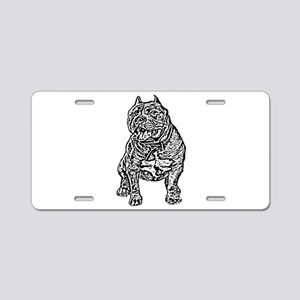 American Bully Dog Aluminum License Plate