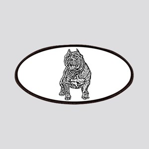 American Bully Dog Patches