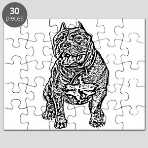 American Bully Dog Puzzle