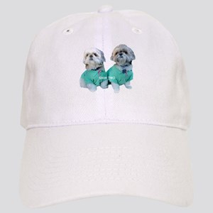 Shih Two Shih Tzu Cap