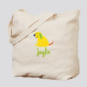 Jaylin Loves Puppies Tote Bag