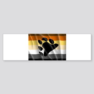 BEAR PRIDE FLAG Bumper Sticker