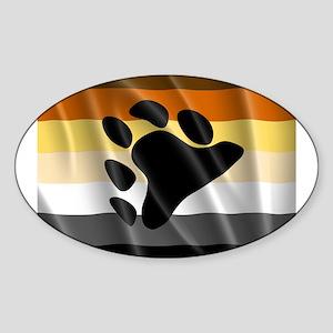 BEAR PRIDE FLAG Sticker
