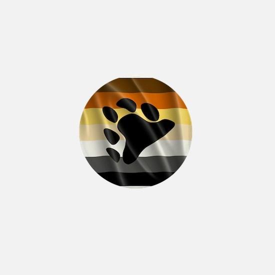 BEAR PRIDE FLAG Mini Button