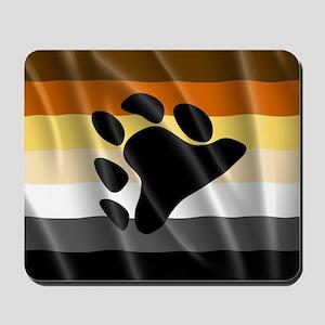 BEAR PRIDE FLAG Mousepad