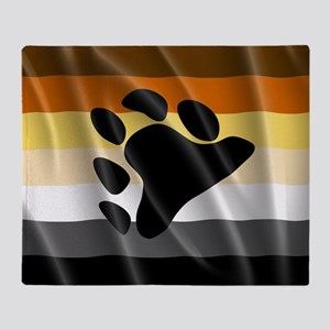 BEAR PRIDE FLAG Throw Blanket